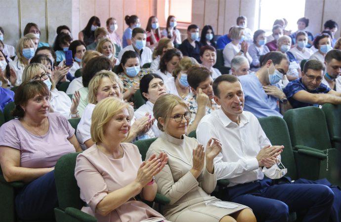 Привітання Юлії Тимошенко напередодні Дня медика, 18.06.2021