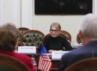 Юлія Тимошенко зустрілася з делегацією Сенату США
