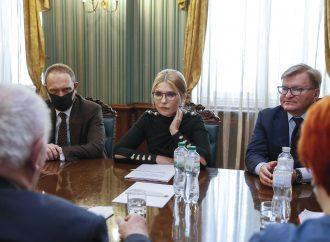 Юлія Тимошенко зустрілася зі Спеціальним представником Німеччини з реформи децентралізації