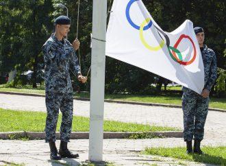 В Одесі відбулось урочисте підняття Олімпійського прапору