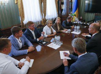 Юлія Тимошенко зустрілася з Президентом Світового Конґресу Українців