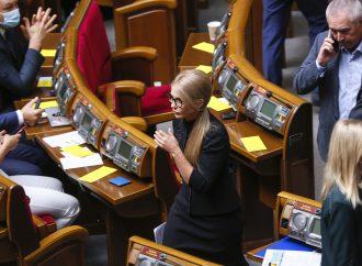 Виступ Юлії Тимошенко на засіданні Погоджувальної ради, 07.09.21