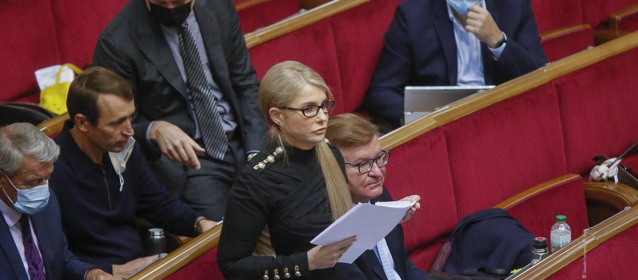 Юлія Тимошенко: «Батьківщина» категорично проти законів, які порушують трудові права українців