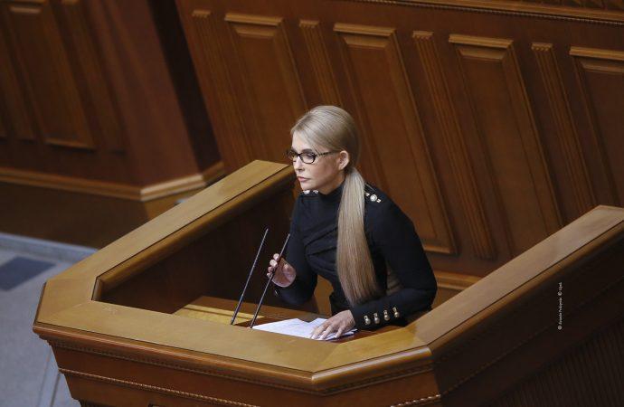 Виступ Юлії Тимошенко у Верховній Раді, 21.09.21