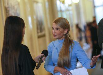 Виступ Юлії Тимошенко у Верховній Раді, 22.09.21