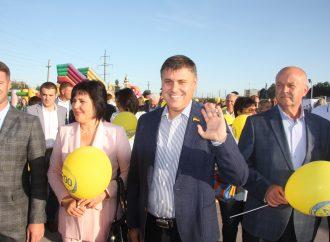 Представники «Батьківщини» привітали жителів Бердянська, Приморська та Полог