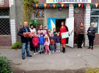 Депутатка від «Батьківщини» підтримала дитячу громадську організацію