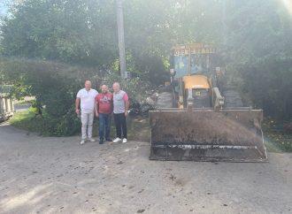 Завдяки втручанню депутатів від «Батьківщини» вирішено проблему стихійного сміттєзвалища в Ужгороді