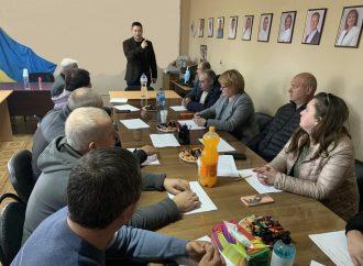 Депутати від ВО «Батьківщина» проводять каскадні тренінги