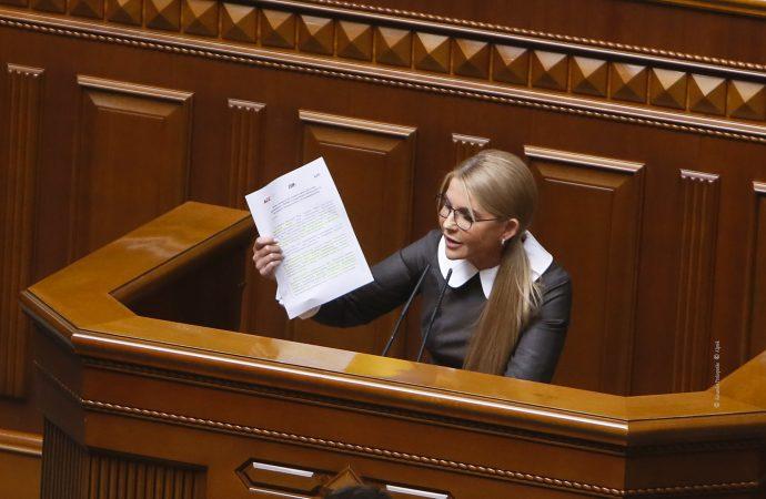 Виступ Юлії Тимошенко у Верховній Раді, 05.10.2021
