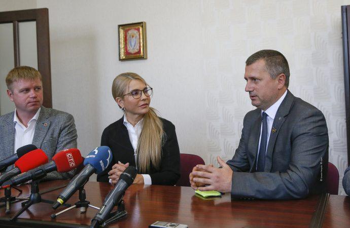 Юлия Тимошенко продолжает бороться за снижение тарифа на газ
