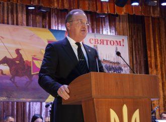 Олег Радковський привітав військових Одещини з Днем захисників і захисниць України
